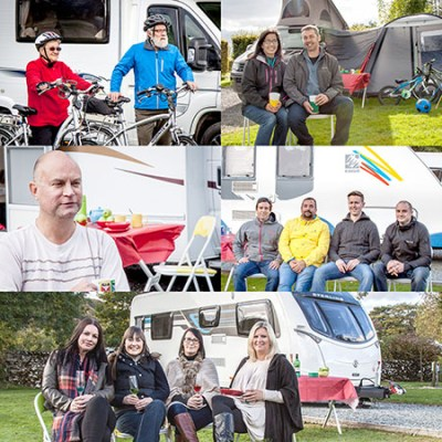 Caravan Guard customer video collage