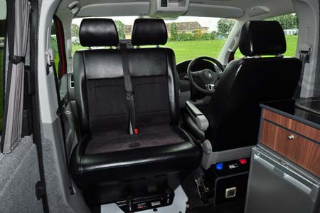 Stowford Camper Seating