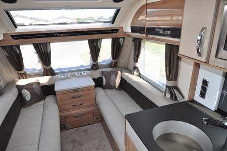 Swift Conqueror 565 Interior looking forward