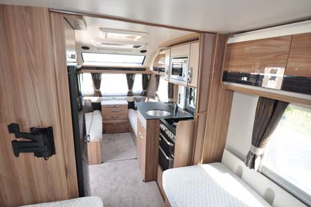 Swift Conqueror 565 Interior
