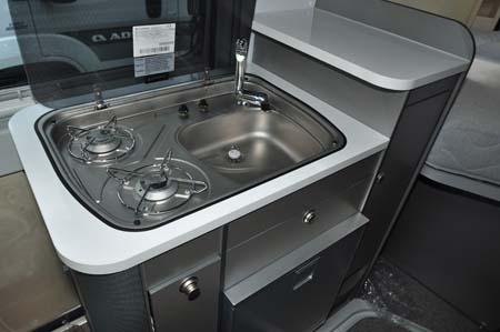 Adria Twin 540 sink