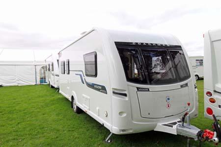 Coachman Vision 570 Exterior front