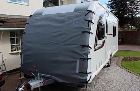 Vancoover Caravan Towing Cover