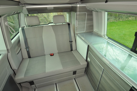 VW California Ocean Interior