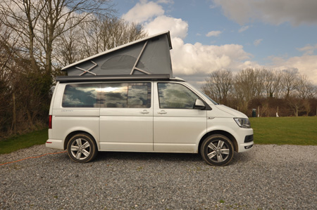 VW California Ocean top up