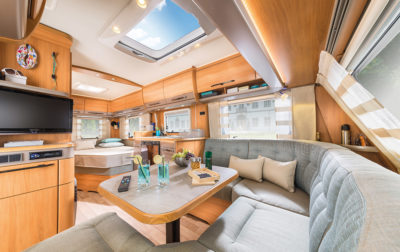Hymer Nova 585 Interior panoramic