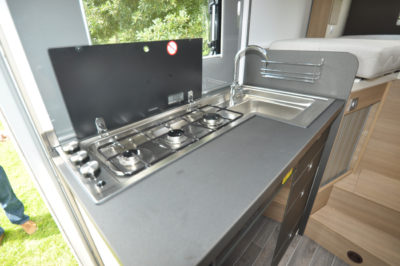 Adria Compact Plus SLS Kitchen Hob