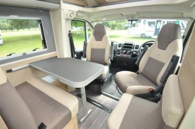 Adria Compact Plus SLS Dining Seating