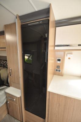 Coachman Laser 675 fridge