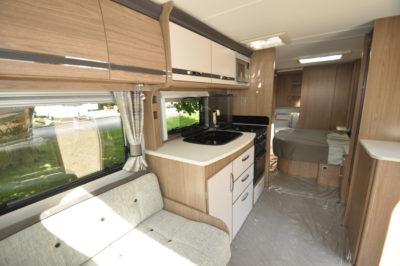 Coachman Laser 675 interior