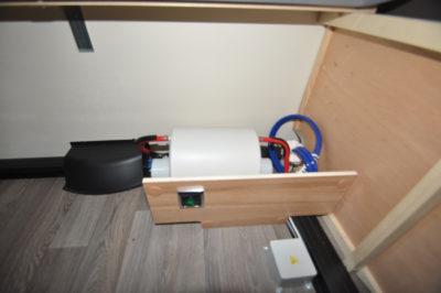 Caravelair Antares 420 pump