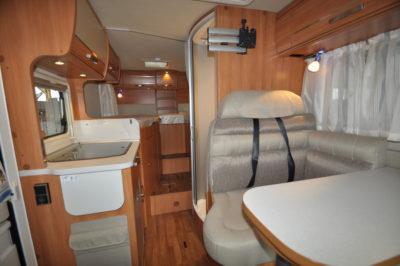 Hymer Van 374 interior