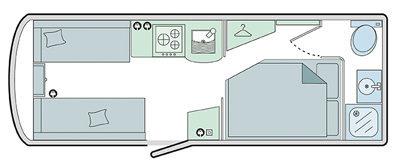 Bailey Pursuit 530-4 Floor Plan
