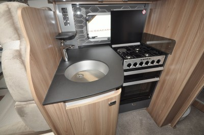 Swift Bessacarr 599 Kitchen