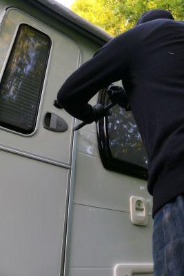 Preventing caravan theft
