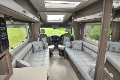 Auto-Sleeper Bourton Interior