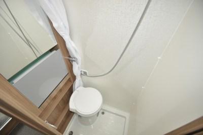 Swift Select 122 Motorhome WC