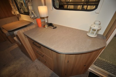 Bailey Pegasus GT70 Palermo worktop