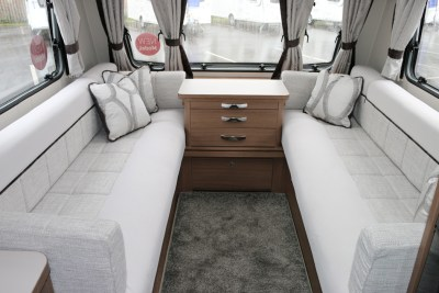 Elddis Affinity 462 lounge seating