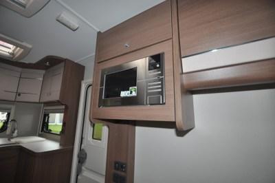 Elddis Affinity 462 microwave
