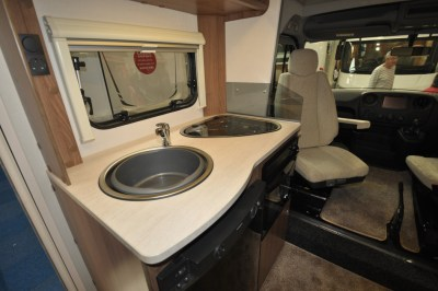 Lunar Cassini EL motorhome kitchen