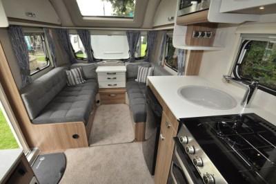 Swift Sprite Quattro EB interior looking forwards
