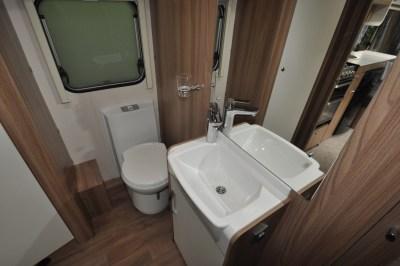 Swift Sprite Quattro EB washroom