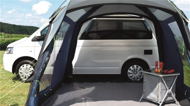 Outwell Milestone Pace Air motorhome awning
