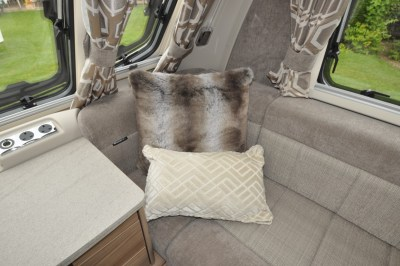 Swift Elegance 530 lounge upholstery
