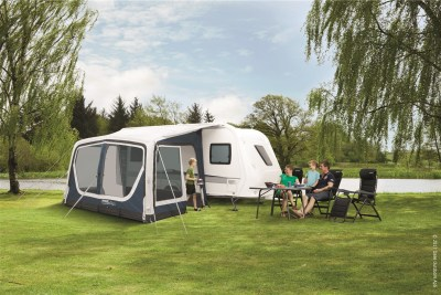 Outwell Ripple 380SA caravan air awning