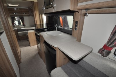 Swift Challenger 590 interior kitchen