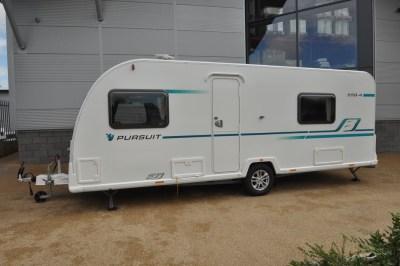 Bailey Pursuit 550 4 caravan exterior 2
