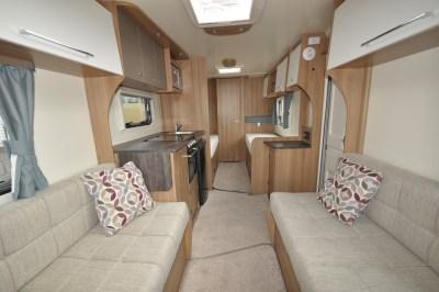 Bailey Pursuit 550 4 caravan lounge through to back