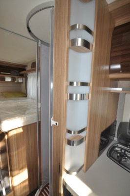 Knaus Sun Ti 700 MEG motorhome between kitchen and shower