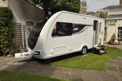 Swift Conqueror 480 caravan exterior