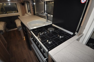 Swift Rio 340 motorhome kitchen