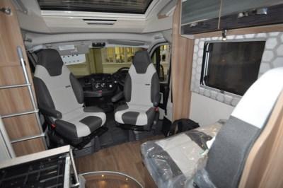 Swift Rio 340 motorhome seating