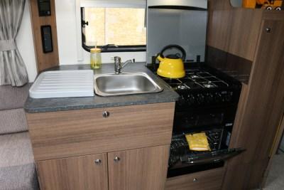 Bailey Phoenix 760 kitchen