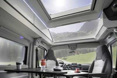 Adria Twin 640 Supreme Skylight
