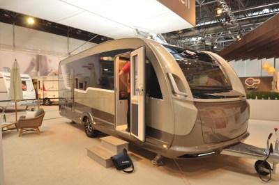 Burstner Harmony caravan