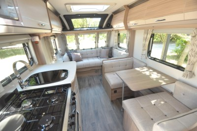 Coachman Pastiche 470 interior looking forward