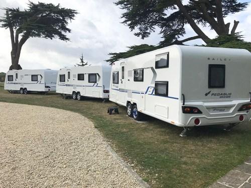2019 Bailey Pegasus Grande six-model range