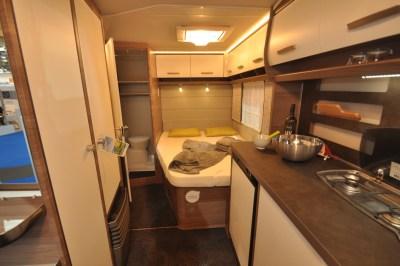 Knaus Sport Silver Caravan Interior