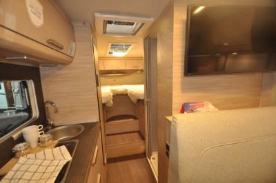 Knaus Van Ti Plus motorhome interior
