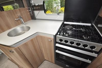 Swift Kon Tiki 650 kitchen