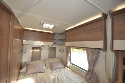 Bailey Pegasus Grande Turin bedroom