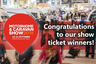 Motorhome Show ticket winners