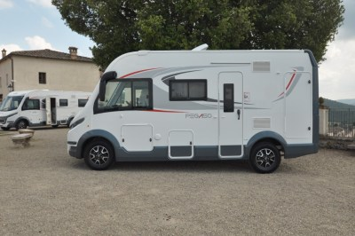 Roller Team Pegaso 590 motorhome exterior side