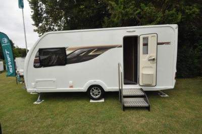 Swift Eccles 480 caravan exterior