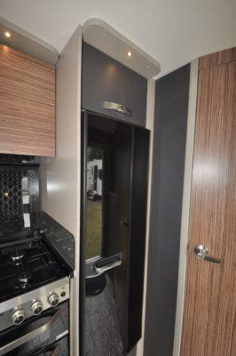 Swift Eccles 480 caravan fridge